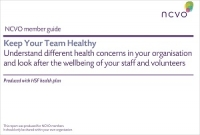 NCVO Member Guide - Keep Your Team Healthy